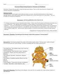 date document based essay question hinduism and