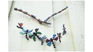 fused dragonfly wind chimes