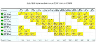 Hour Schedule Template Cool Hourly Work Download 24 7 Excel Hr Shift