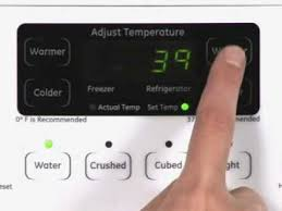 ge refrigerator temperature control. Interesting Control To Ge Refrigerator Temperature Control O
