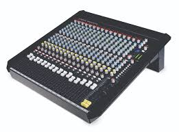 this is a h s mid size mixer range available in 16 2 12 2 and 14 4 2 configurations you get a couple of onboard multi fx units four band eq per channel