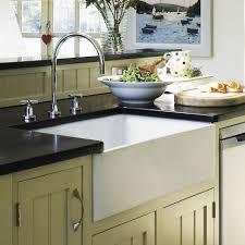 Kitchen  Porcelain Farmhouse Sink Top Mount Apron Sink Affordable Barn Style Kitchen Sinks