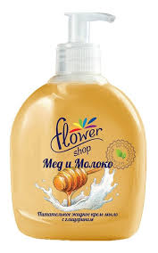 Жидкое <b>мыло FLOWER SHOP Flowershop</b> молоко и мед | Watsons
