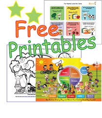 Small Picture Free Kids Nutrition Printables Worksheets My Plate Food Groups