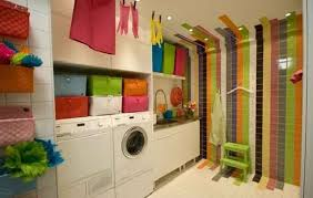 laundry room paint ideasBasement Laundry Room Ideas and Storage Solutions  Model Home