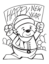 Small Picture New year banner coloring pages Download Free New year banner