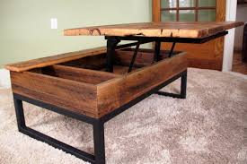 diy lift top coffee table wood