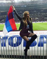 Image result for russia girls in stadium