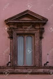 Alt Grunge Hölzerne Fenster Auf Alten Haus