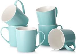 Lifver coffee mugs set, 17 ounces large coffee mugs, ceramic mugs with embossed nordic style, coffee mug cup set of 4, for coffee, tea, cocoa, blue 98 $25 99 ($6.50/item) Amazon Com Dowan Coffee Mugs Set 18 Oz Large Coffee Mug Set Of 6 Ceramic Mugs With Large Handle For Coffee Tea Cocoa Dishwasher Safe Chip Free Lead Free Ideal Gift For Morning Mother S Day