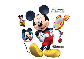 mickey mouse giant officially licensed disney removable wall decal fathead wall decal
