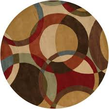 artistic weavers quesnel brown 8 ft x 8 ft indoor round area rug the home depot canada