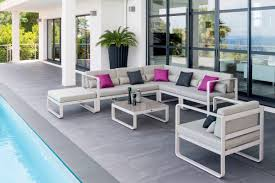 Beautiful Salon De Jardin Bas Aluminium Blanc Photos Amazing