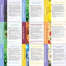 Essential Oils Chart Woodland Aromatherapy