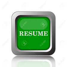 resume icon internet button on green background stock photo resume icon internet button on green background stock photo 45365848