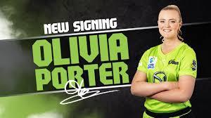 Olivia Porter joins the Thunder Nation | Sydney Thunder - BBL