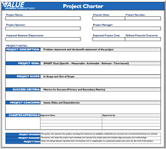 Generating Value With A Project Charter Rod Baxter Pulse