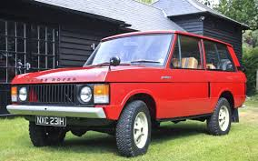 First production Range Rover for sale