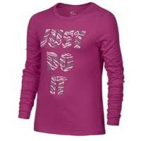 nike outfits for girls. nike l/s jdi tiger t-shirt - girls\u0027 grade school pink outfits for girls
