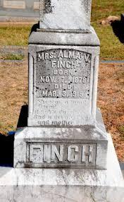 Mrs Alma V Elder Finch (1878-1915) - Find A Grave Memorial