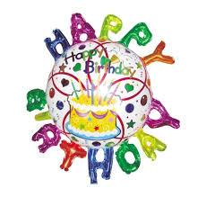 Купить <b>шар фольгированный ACTION</b>! Happy Birthday! (API0210 ...