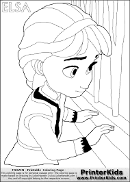 Small Picture coloringpags frozen to print Frozen Elsa Coloring Pages