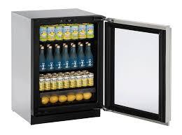 Glass Door Home Refrigerator 3024rgl 24 Glass Door Refrigerator Glass Door Refrigerators