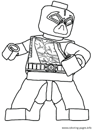 Coloring Pages Colouring Marvel Color Printable Lego Ninjago Kai Kx
