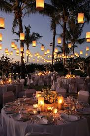 Outdoor Wedding Reception with Tons of Beautiful Lanterns! Why haven't I  thought of this since I've always said I love Chinese/Japanese backyard  lanterns?