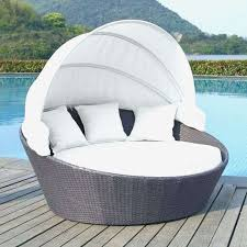 round patio lounger outdoor lounge chair fancy chaise