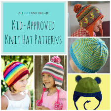 Child Knit Hat Pattern Impressive How To Knit A Hat 48 Patterns For You AllFreeKnitting