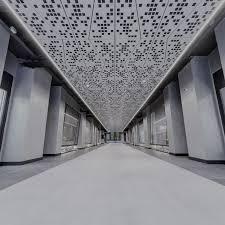 Suspended Walkway Design Metal Suspended Ceiling Tile Panel Strip Special