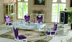 purple dining room sets le dining room sets furniture decor table purple dining room