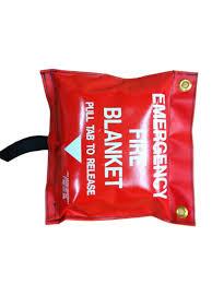 fire blanket 3 x 5 in bag