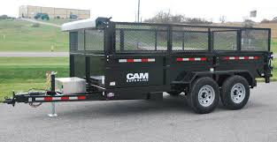dump trailer heavy duty low profile ton models overview heavy duty low profile dump trailers by cam superline