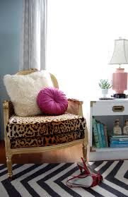 Leopard Chairs Living Room Refurbishing Cane Bergere Chairs With Gold And Leopard Print