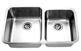 As309 31875 X 20625 X 108 16g Double Bowl Undermount Heritage