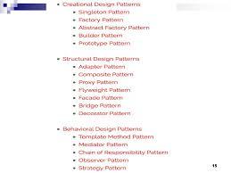 Proxy Design Pattern C Java Design Patterns C S446 Ppt Download