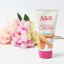 nad s sensitive hair removal cream