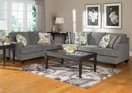 Brothers Fine Furniture Yvette Steel Sofa & Loveseat