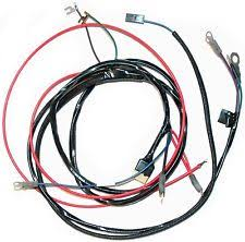 corvette wiring harness 1958 62 corvette engine wiring harness new reproduction man transmission only