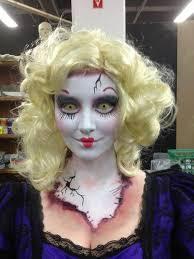 y doll costume makeup las zombie rag