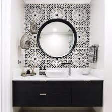 black and white bathroom furniture. dramatic black and white bathroom from embracingspace amazing what tiling can do to a furniture t