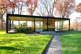 glass house in new canaan connecticut architecture