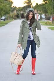 rainy day outfit idea dash of panache