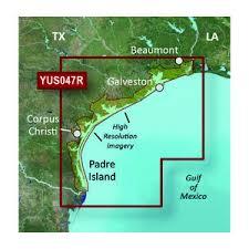 Yus047 Texas Gulf Coast Bluechart G2 Hd Chart Microsd Sd Card