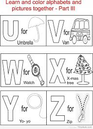 Small Picture 25 ABC alphabet coloring pages for kids TimyKids