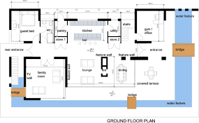 Gorgeous Contemporary Floor Plans For New Homes On Home Minimalist  Furniture Decorating
