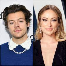 Harry Styles and Olivia Wilde ...