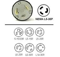 l r wiring l image wiring diagram l5 30p plug adapters nema l5 30 to 5 20r l5 15r l5 20r on l6 l5 30 wiring diagram